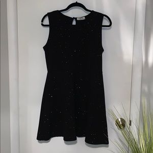 Ginger G sparkly black party dress size L
